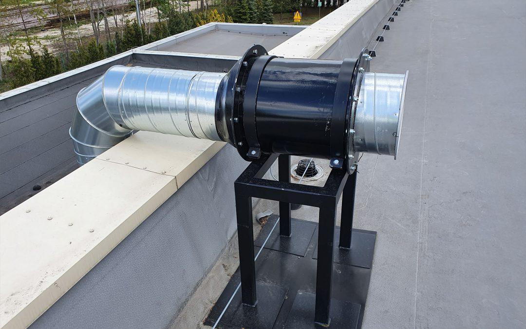Rura wentylacyjna element kanału kominowego